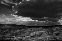 The Pedernal: viewed from Abiquiu, NM